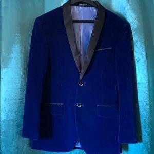 Men's Velvet blazer.